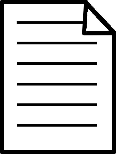 paper document text front clip art free vector 4vector rh 4vector com text clip art generator text clipart maker