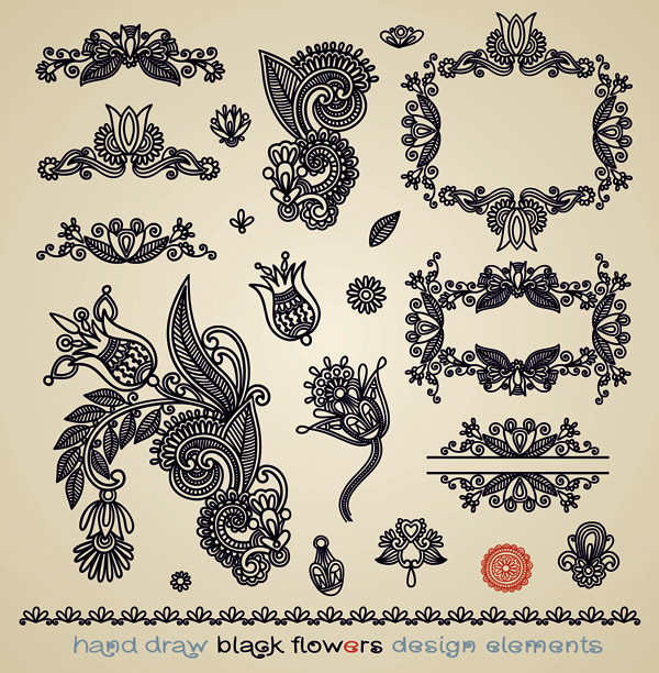 free vector Papercut style of classical pattern vector 4