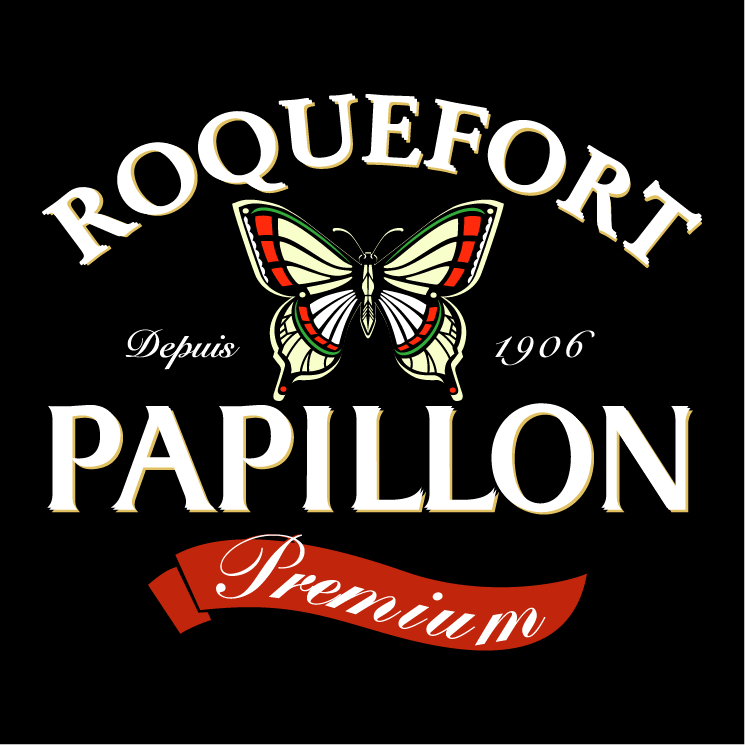 free vector Papillon roquefort