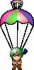free vector Paratrooper  clip art