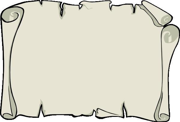 parchment paper landscape clip art free vector / 4vector