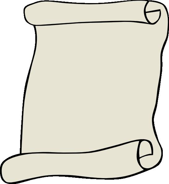 parchment paper portrait clip art free vector / 4vector