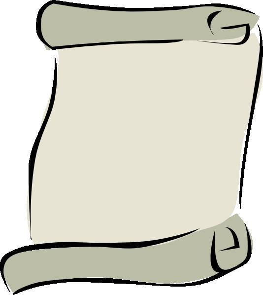 free vector Parchment Paper Portrait Symbol clip art