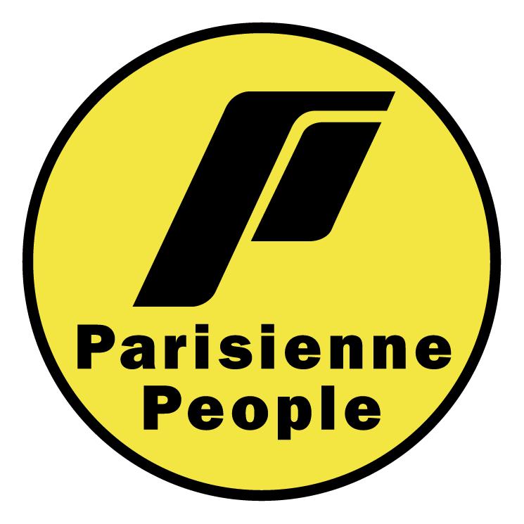 free vector Parisienne people