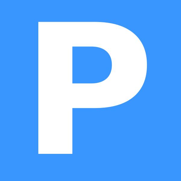 free vector Parking Metro De Madrid clip art