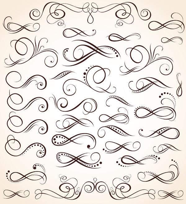 free vector Particular pattern vector