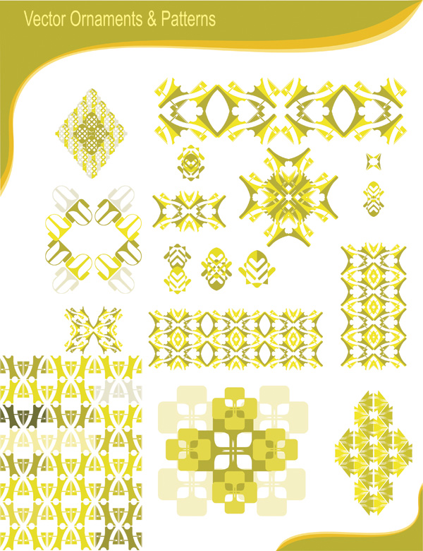 free vector Particular trend pattern vector