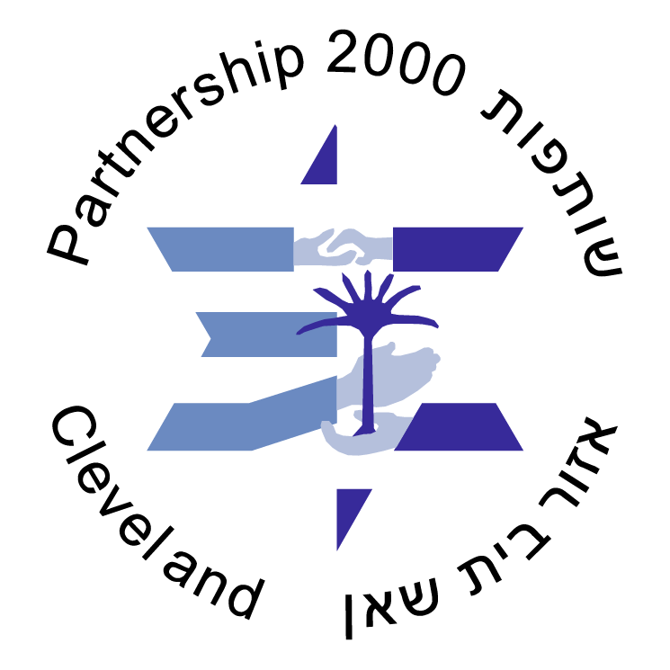free vector Partnership 2000 cleveland for israel