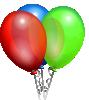 free vector Party Helium Balloons clip art