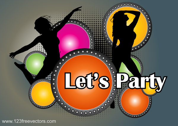 free vector Party Poster Vector