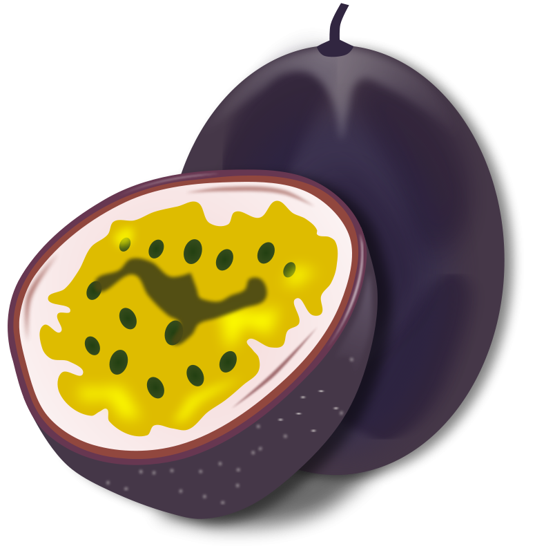 Passion Fruit Free Vector / 4Vector