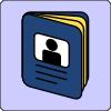 free vector Passport Icon clip art