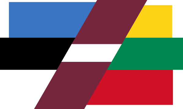 free vector Patchwork Flag Of Baltic Countries clip art