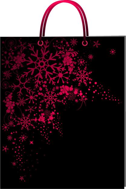 free vector Pattern bag material