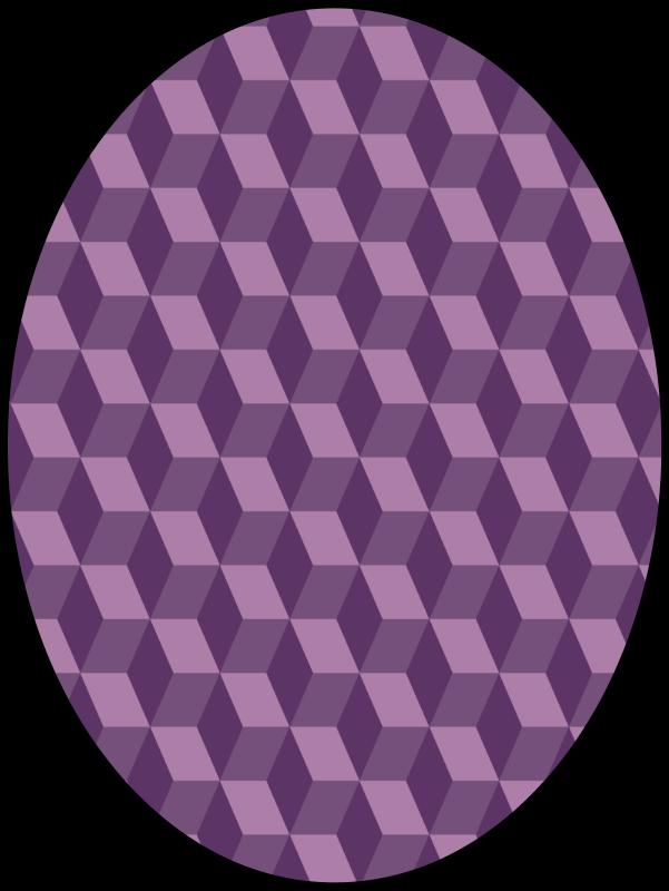 free vector Pattern false cubes