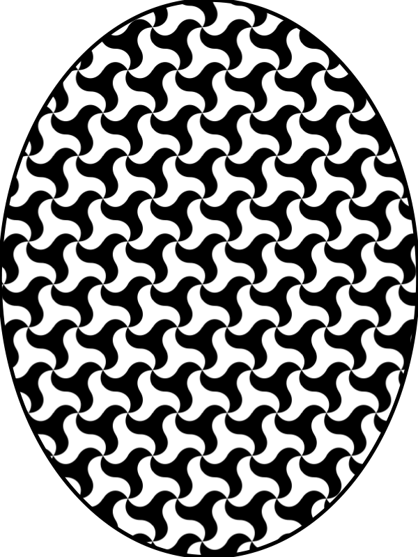 free vector Pattern triskelion