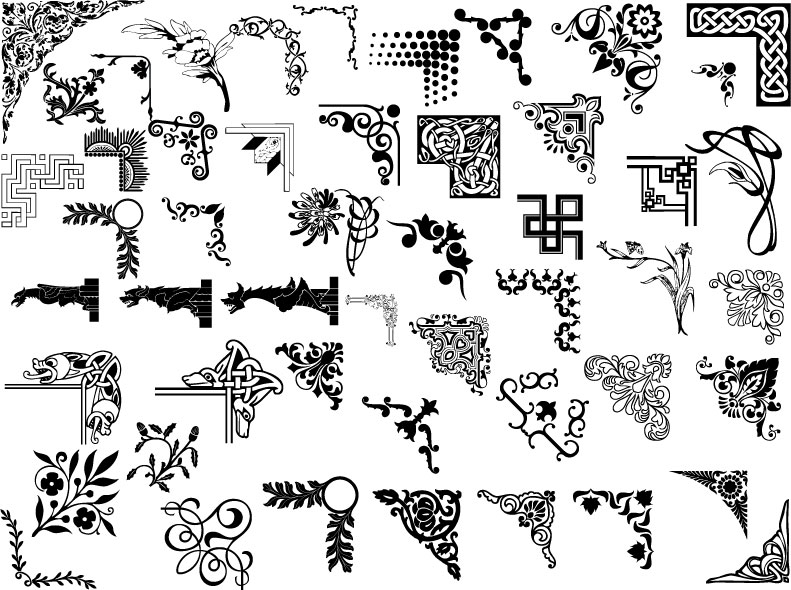 free vector Pattern vector ai 50 models