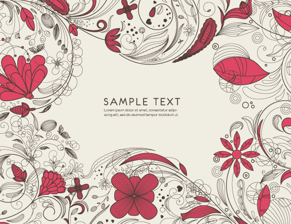 free vector Pattern vector fashion line