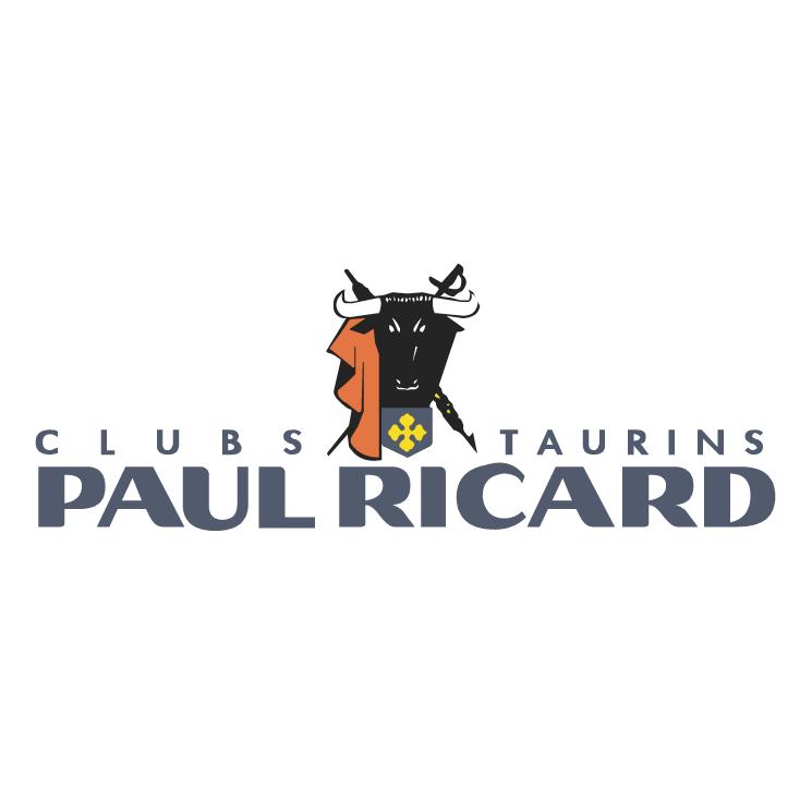 free vector Paul ricard clubs taurins