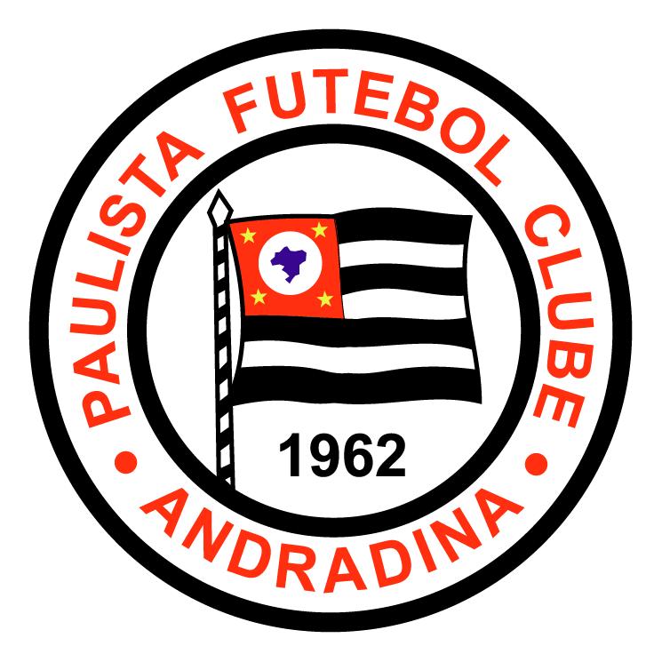 free vector Paulista futebol clube de andradina sp