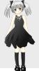 free vector Paulliu Girl With Silver Hair clip art