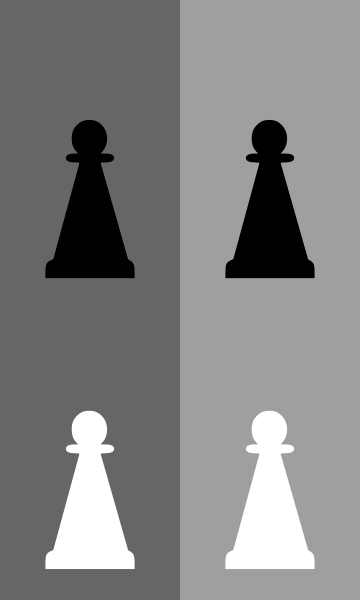 free vector Pawn Chess Set clip art