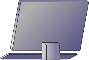 free vector Pc Computer clip art