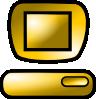 free vector Pc Desktop Icon clip art