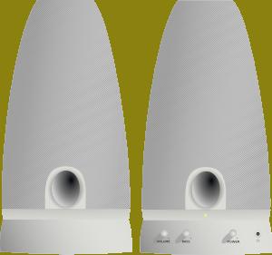 free vector Pc Speaker clip art