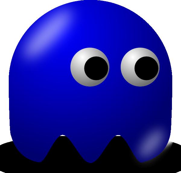 free vector Pcman Game Baddie Basic Guy clip art