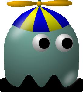 free vector Pcman  Game Baddie Geek clip art