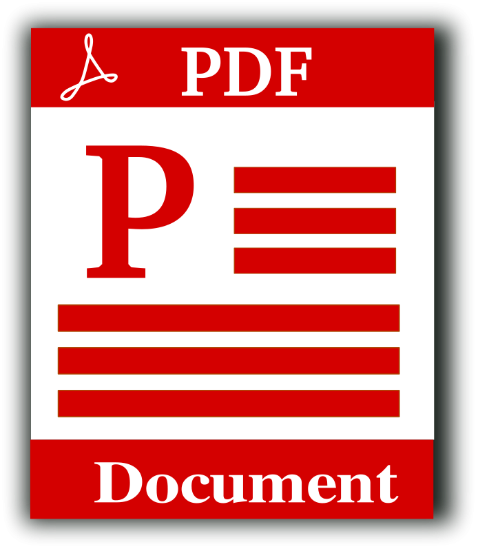 Document Download File Files Pdf Icon: PDF File Icon Free Vector / 4Vector