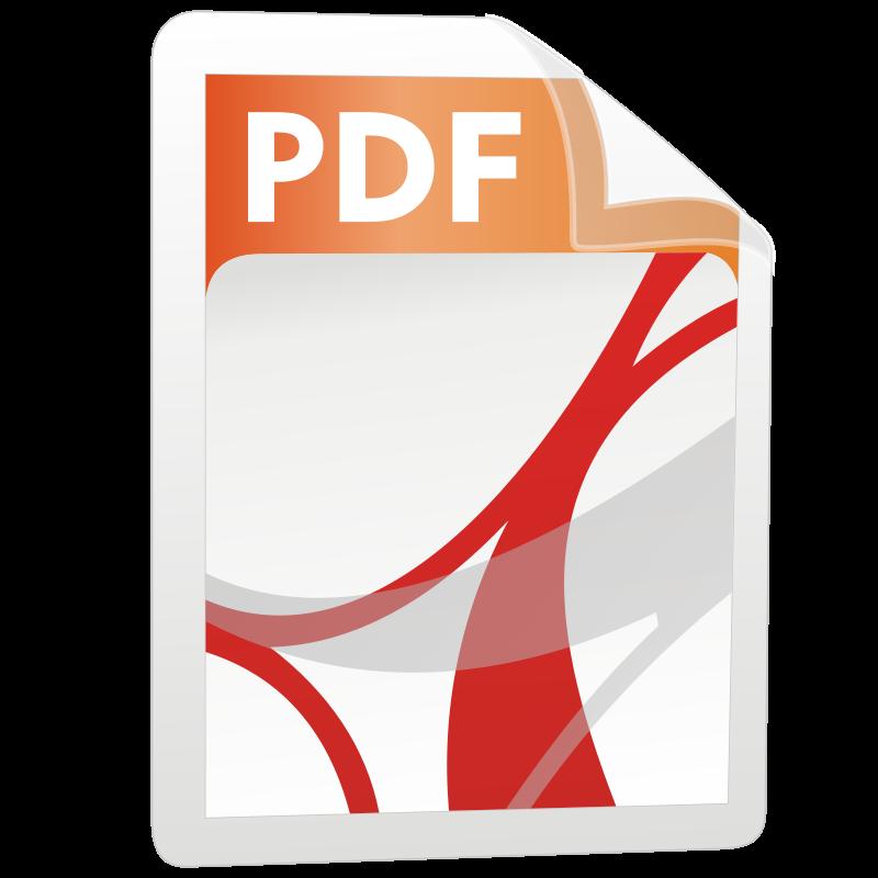 free vector PDF icon