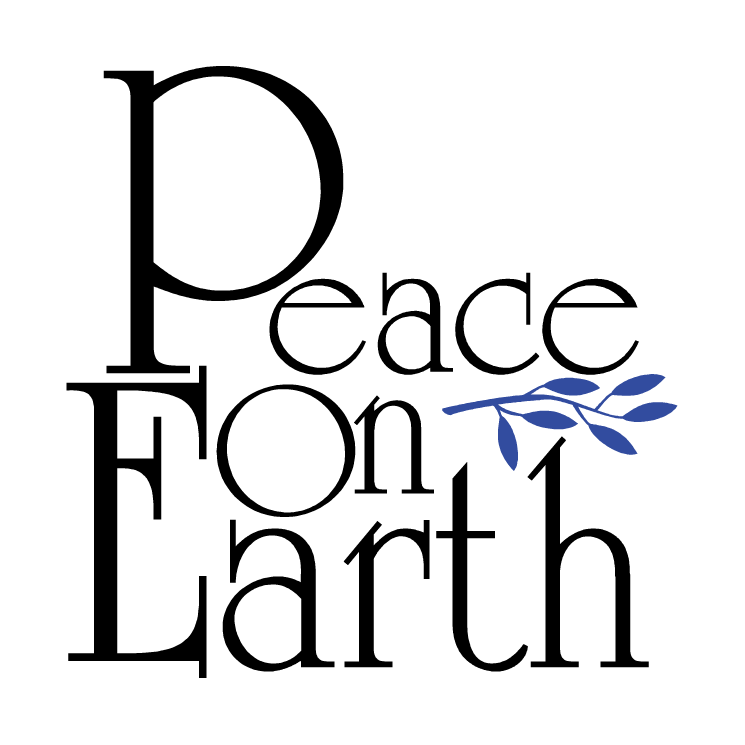 free christmas peace on earth clipart - photo #5
