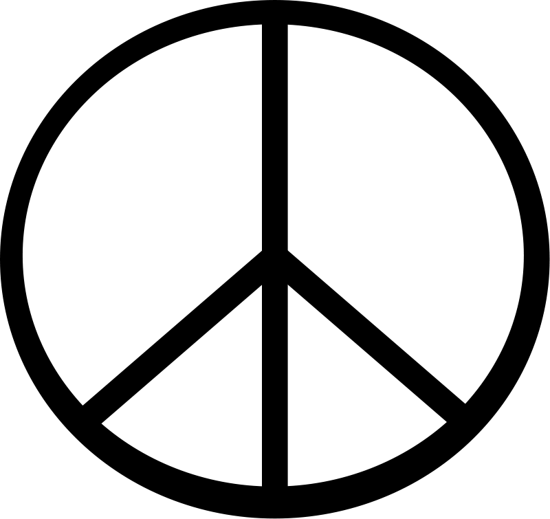 free vector Peace symbol transparen 01