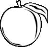 free vector Peach Apple clip art