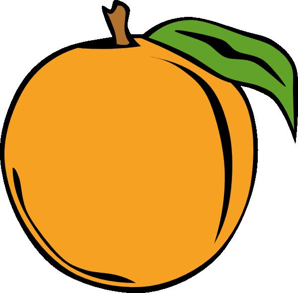 free vector Peach clip art 115247