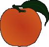 free vector Peach clip art