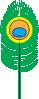 free vector Peacock Feather clip art