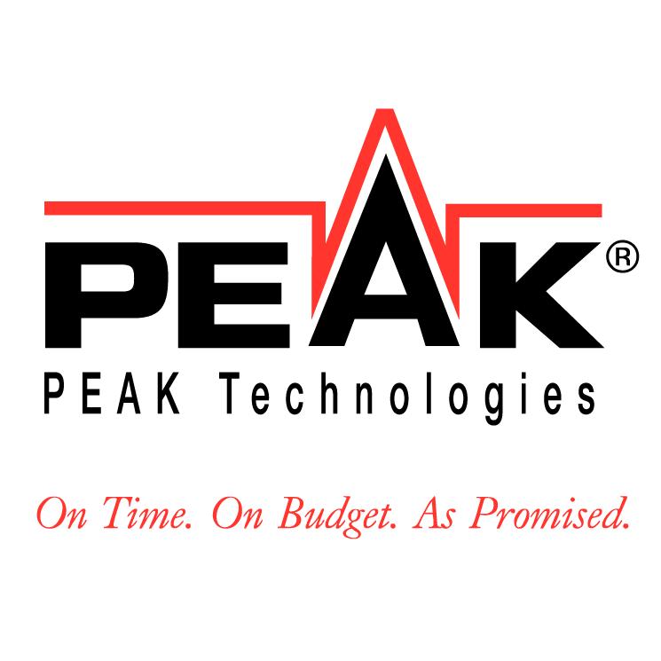 free vector Peak technologies