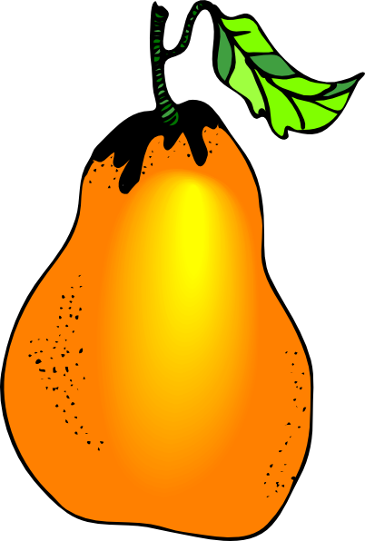 Pear clip art Free Vector / 4Vector