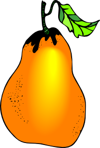 free vector Pear clip art