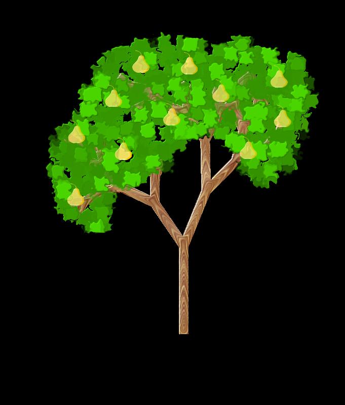 free vector Pear Tree
