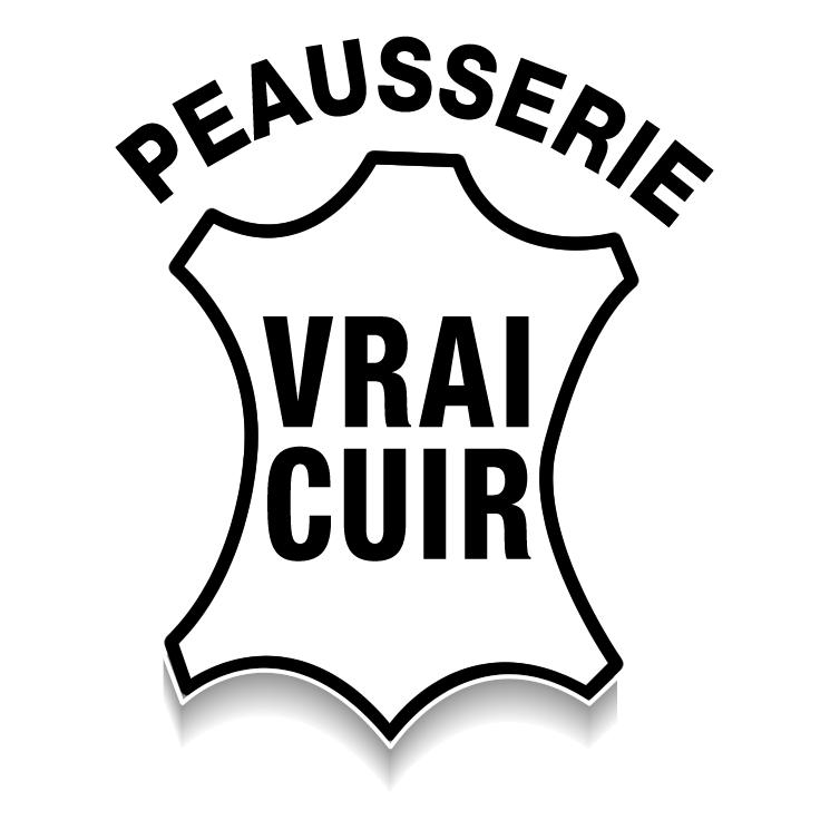 free vector Peausserie vrai cuir