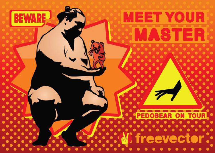 free vector Pedobear