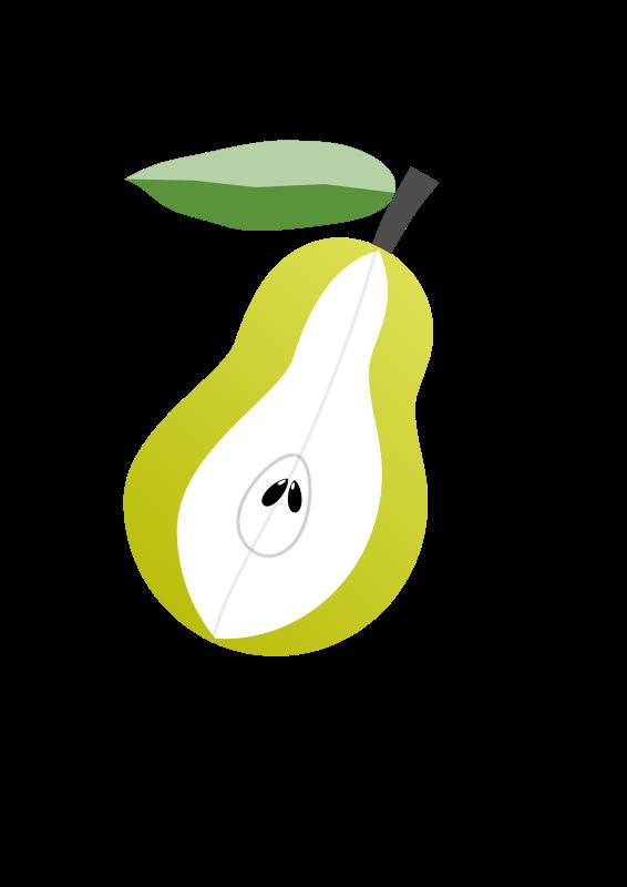 free vector Peer fruit