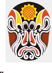 free vector Peking opera vector 127 models