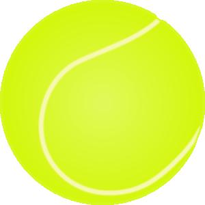 free vector Pelota De Tenis clip art
