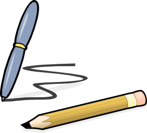 free vector Pen & Pencil clip art