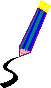 free vector Pencil Drawing A Line clip art